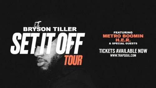 Seattle's WAMU Theater Hosting Bryson Tiller's 'Set It Off' Tour Ft. Metro Boomin & H.E.R.