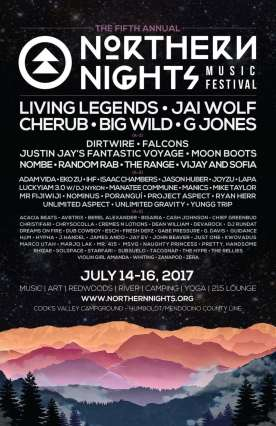 Jai Wolf & Dirtwire Announced For California's Northern Nights Music Festival
