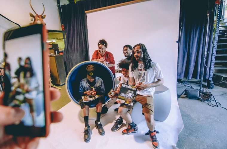 """Northwest Leaf Selects """"Seattle's Most Stoned Emcees"""" For The Front Page"""