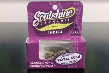 A Review of Soulshine Cannabis Royal Kush Strain | Recreational 420