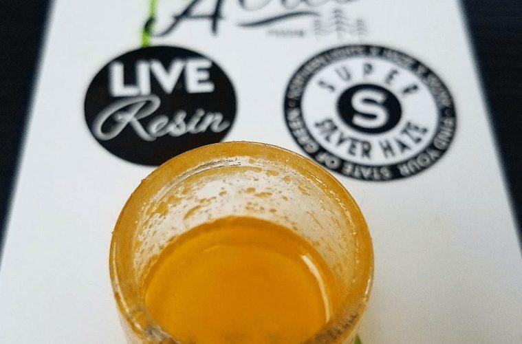 Super Silver Haze Live Resin From Green Acres Pharm