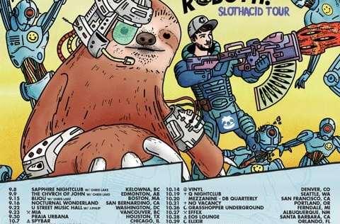 Sacha Robotti SlothAcid Tour