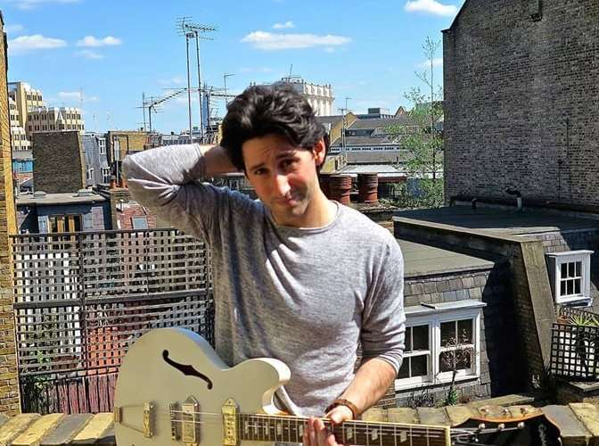 """Eric Frisch Releases Latest Indie-Pop, Retro EP Titled """"Water into Gold"""""""