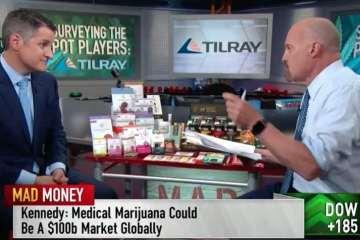 tilray cannabis stock