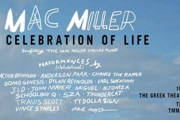 Mac Miller: A Celebration Of Life Concert To Take Place In L.A On 10/31