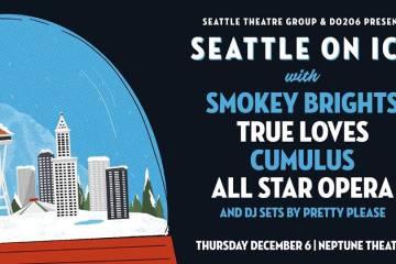 Seattle On Ice! Neptune Theater Transforms Into Giant Snow Globe Dec. 6