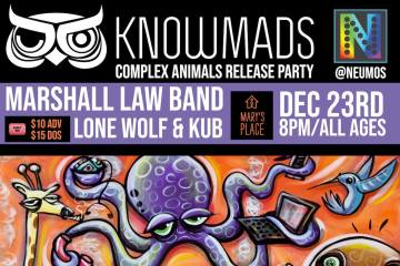KnowMads Hosting Complex Animals Release Party At Neumos Dec. 23