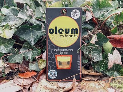 Golden Blueberry Cannabis Review (Feat. Oleum Extracts)