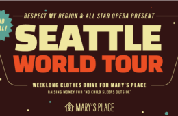 Second Annual Seattle World Tour Coming January 2019
