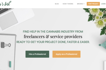 Are You A Cannabis Freelancer? You Should Post Your Services On Mary's List