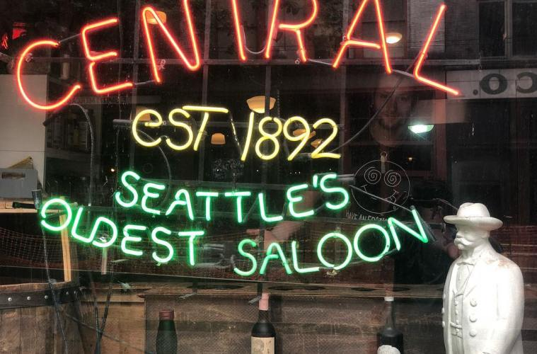 Central Saloon Has Been Providing Entertainment Since The 19th Century