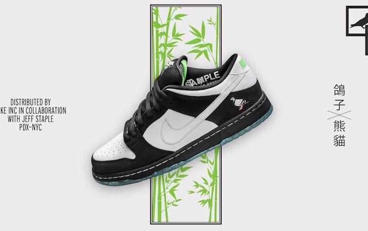"Nike SB Dunk x Staple ""Panda Pigeon"" Release Info"