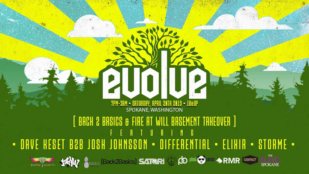 Evolve's Basement Stage Features Total Focus On Music And Energy