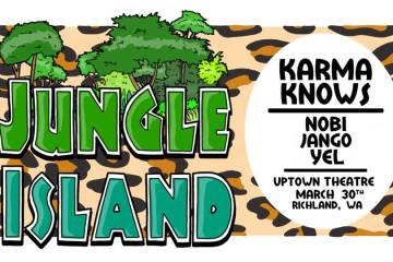 Jungle Island With Karma Knows At Uptown Theatre In Richland March 30