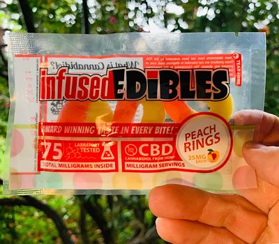 Peach Rings CBD Review (Prod  Infused Edibles) II Respect My
