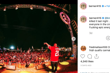 Berner and B-Real Collide For Massive Performance At Northern Nights Music Festival