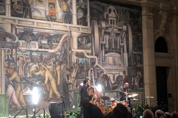 The Marcus Elliot Trio Brought One Of The Liveliest Events To The DIA