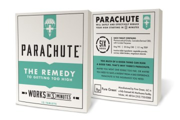 Parachute Is A Groundbreaking CBD Product That Helps When You Feel Too High