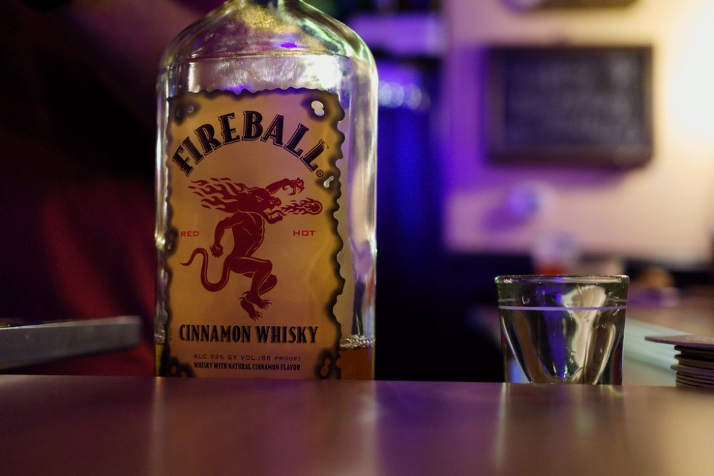Fireball Makes First Foray Into The Edible Business