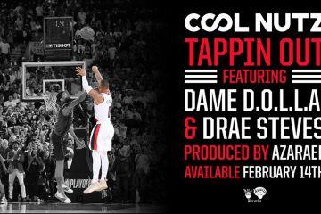 "Damian Lillard aka Dame D.O.L.L.A Joins Portland Rapper Cool Nutz on ""Tappin Out"""