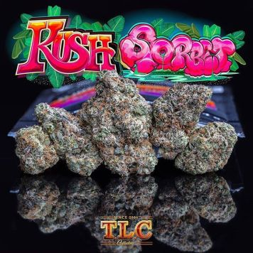 The Delightfully Sweet Kush Sorbet Strain Packs A Powerful High That May Be Enlightening