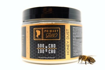 Primary Jane's CBD + CBG Honey Dust Is A Simple Sweetener That Will Turn Any Beverage Into An Herbal Remedy