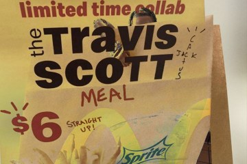 Travis Scott McDonald's Meal