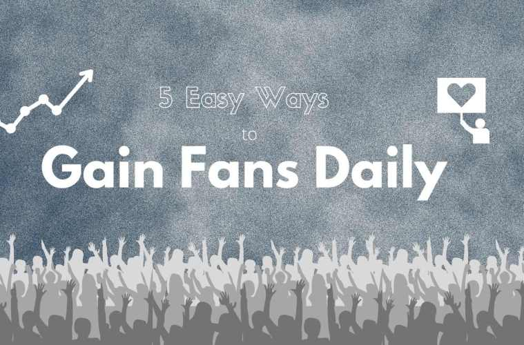 5 Easy Tasks Artists Can Do To Gain New Fans On Social Media