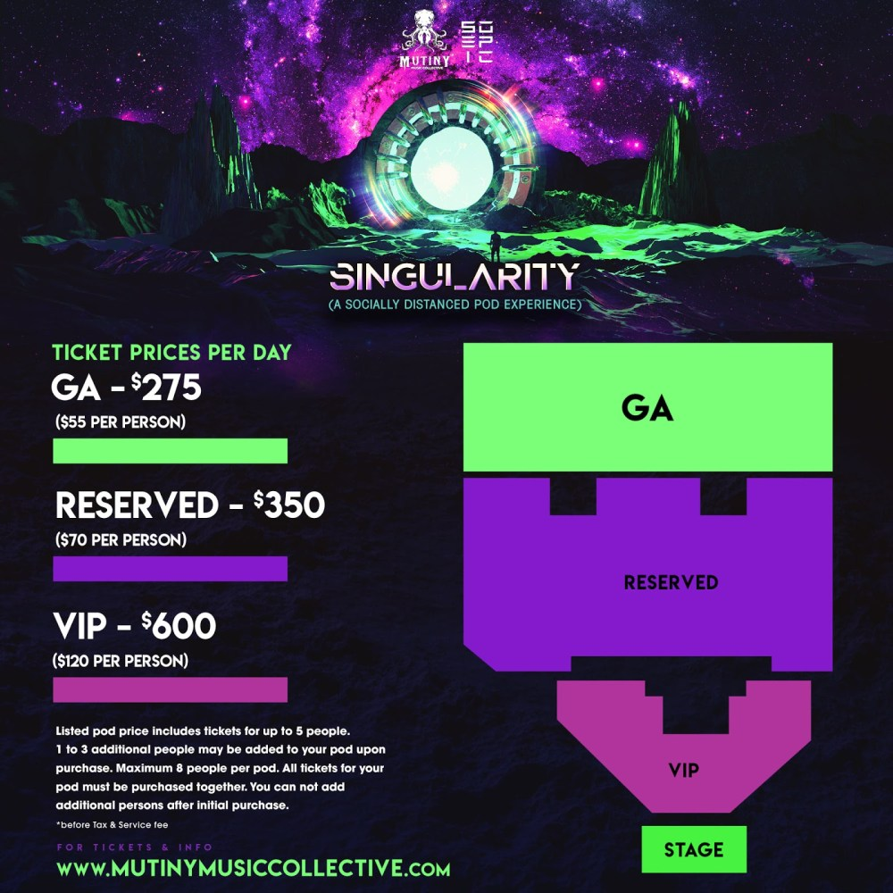 Singularity Music Festival giveaway