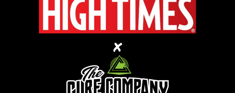 High Times Delivery Is Now Serving The Cure Company's Cannabis Products In Northern And Southern California