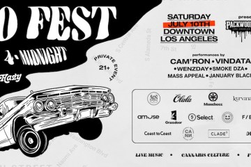 Hazy LA 710 Fest: Budtenders, Investors, and Consumers Unite With Performances From Cam'Ron, Smoke DZA, and More