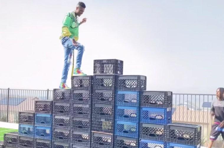 TikTok Bans Milk Crate Challenge: 6 Rappers That Did The #CrateChallenge