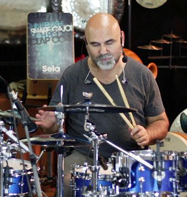 tony liotta suona una batteria respighi drums