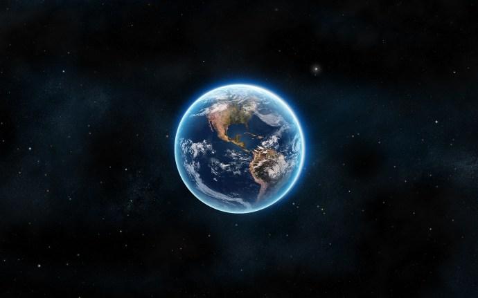 Planeta Terra - palido ponto azul