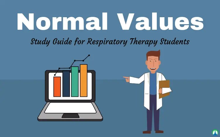 Respiratory Therapy Normal Values (Study Guide)