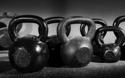Kettlebell training!