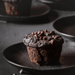 chocolate sweet potato muffins