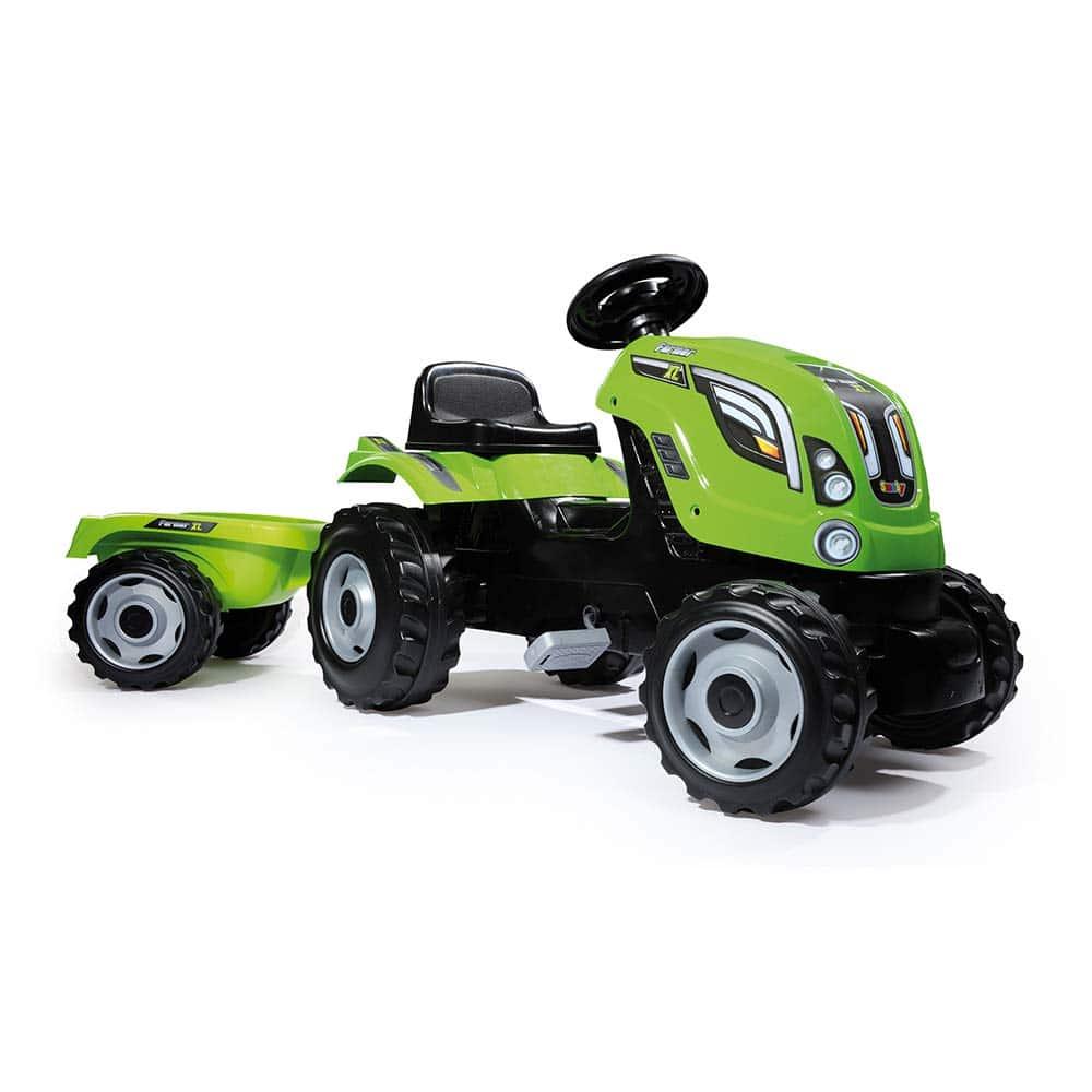 Tracteur à pédale Smoby