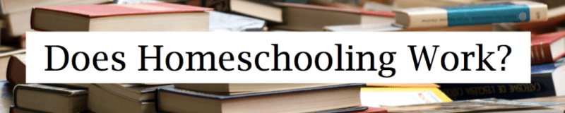 Does Homeschooling work Header Narrow