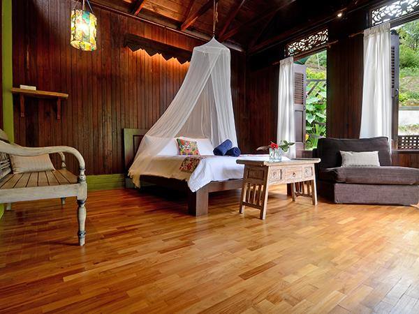 tropical living room in malaysia how to decorate a long narrow with fireplace rainforest bungalows near kuala lumpur helping dreamers do