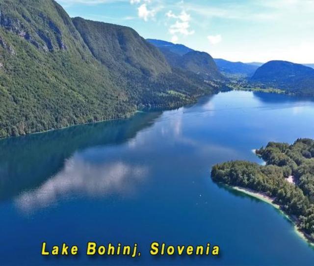 Slovenia Lake Swimming Vacation