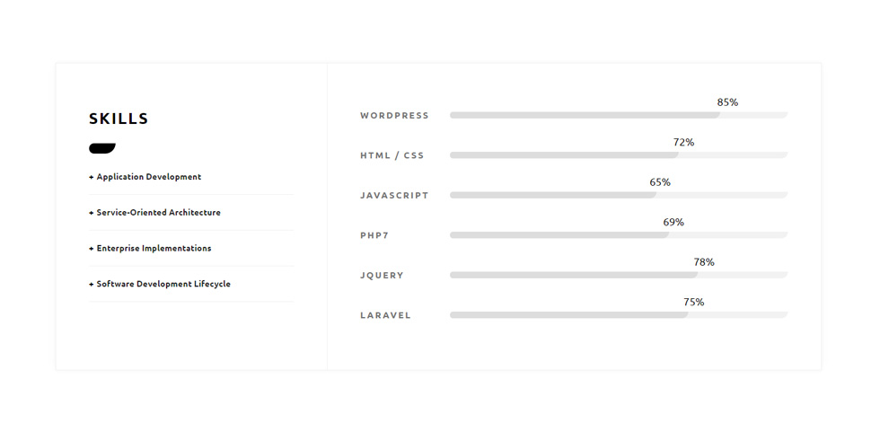 free html resume template materialize css