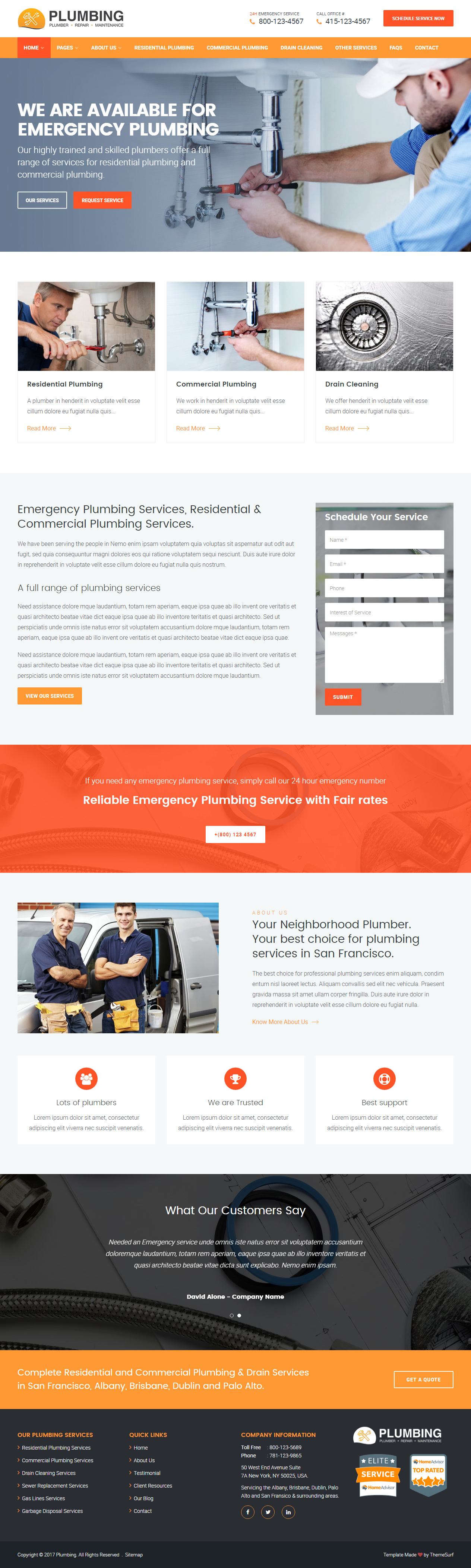 Learn more by craig grannell 22 march 20. 10 Best Responsive Handyman Website Templates 2020 Responsive Miracle