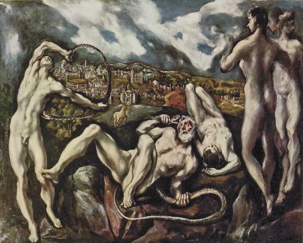 411. Ελ Γκρέκο, Λαοκόων. Ουάσιγκτον, National Gallery of Art.