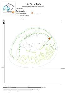 Atlas de Polynésie : Tepoto Sud au 9/10/2017