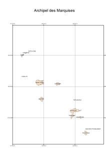 Atlas de Polynésie : Archipel des Marquises