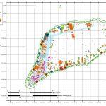 Carte de l'atoll de Ahe au 28-03-2018