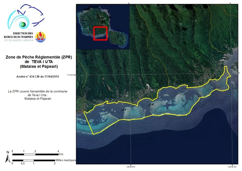 Mataiea et Papeari : Zone de Pêche Réglementée