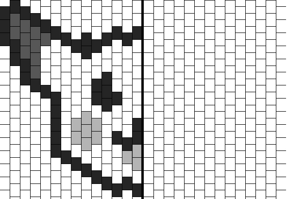 Pikachu Pixel Art Symétrie Orthogonale Un Monde Meilleur