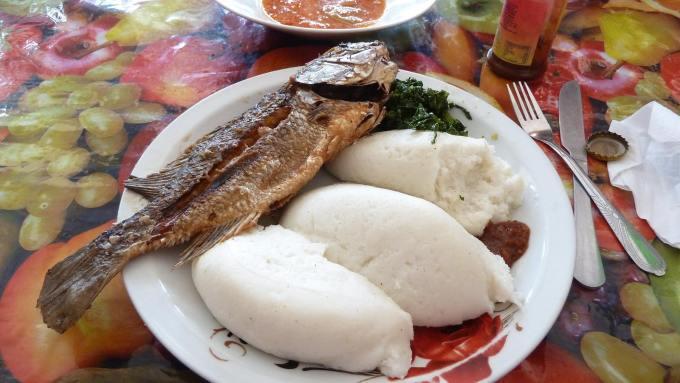 Chambo with nsima